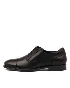 ROME JM BLACK LEATHER