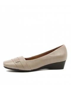 RENZO TAUPE LEATHER