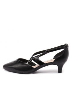 LENNORRE BLACK PATENT LEATHER